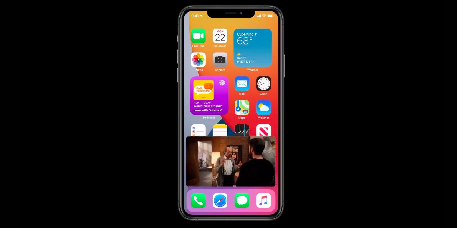 Apple представила iOS 14 с виджетами и галереей приложений