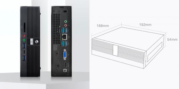 Xiaomi и Ningmei представили миниатюрный ПК с процессором Intel и собственной акустикой