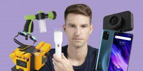 Всё для мужика: видеорегистратор Xiaomi, эксцентриковая шлифмашина, кожаный ремень