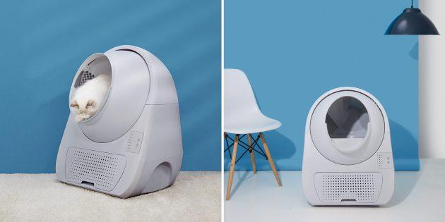 Xiaomi представила умный кошачий туалет с функцией самоочистки