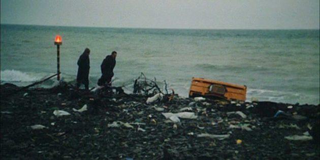 Кадр из фильма «Посетитель музея»