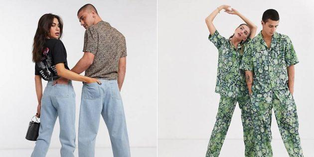 Мужская одежда для женщин: брюки