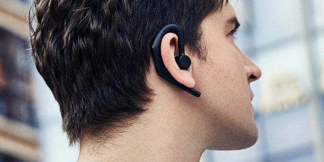 Xiaomi представила эргономичную Bluetooth-гарнитуру с поддержкой «Google Ассистента» и Siri