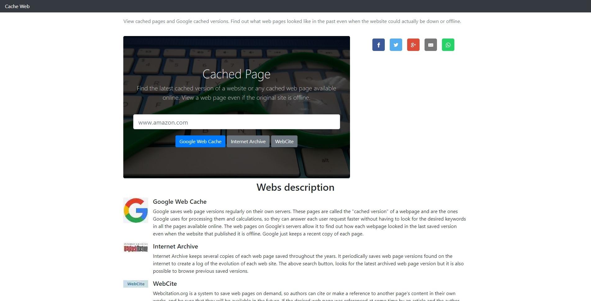 Удалённая страница: CachedPage