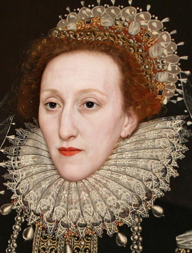 Британская королева Елизавета