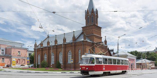 Что посмотреть в Ульяновске: евангелическо-лютеранская церковь Святой Марии