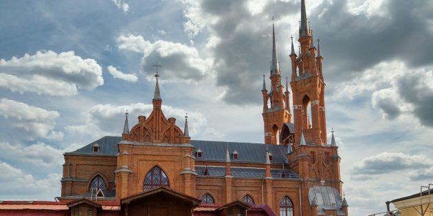 Что посмотреть в Самаре: польский костел