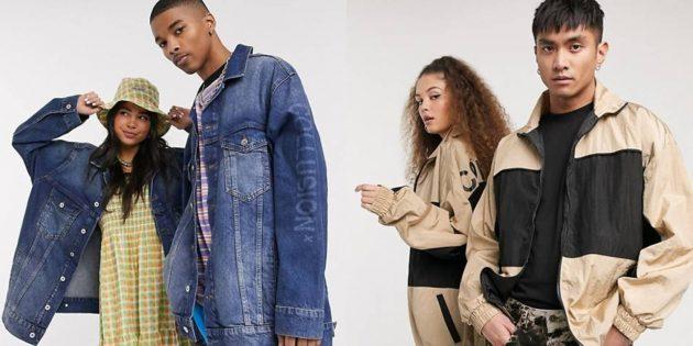 Бомберы и джинсовые куртки