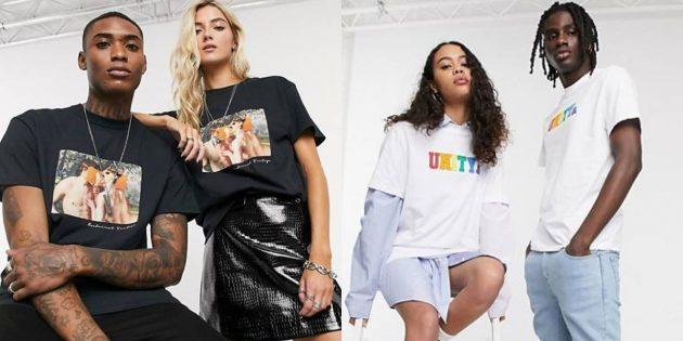 Мужская одежда для женщин: футболки и майки