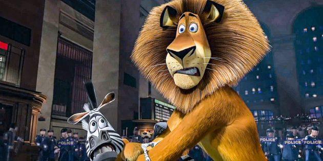 Мультфильмы про животных: «Мадагаскар»