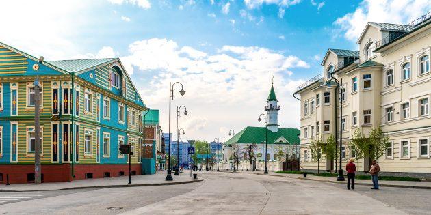 Что посмотреть в Казани: Старо-Татарская слобода