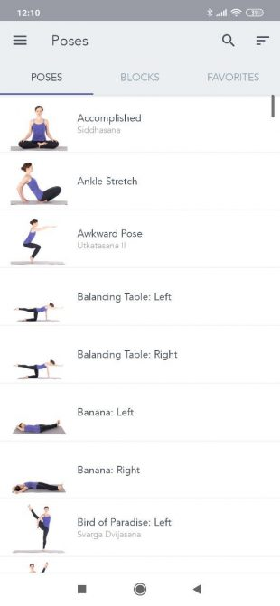 Приложения для йоги: Yoga Studio