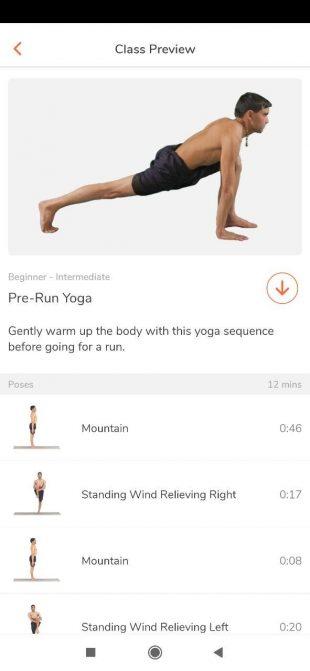 Приложения для йоги: Track Yoga