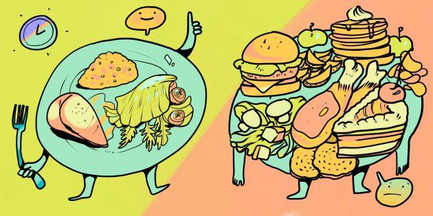 Как я избавился от компульсивного переедания и пришёл к здоровому питанию