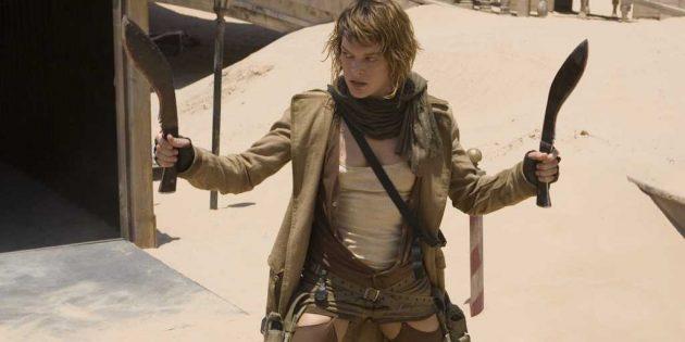 Фильмы про постапокалипсис: «Обитель зла — 3»
