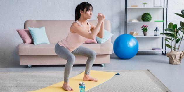 упражнения для ягодиц и бёдер