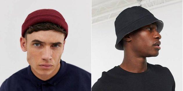 Мужская одежда для женщин: шляпы, шапки и кепки