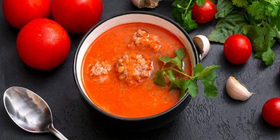 Очень вкусные томатные супы, которые вы захотите приготовить ещё не раз