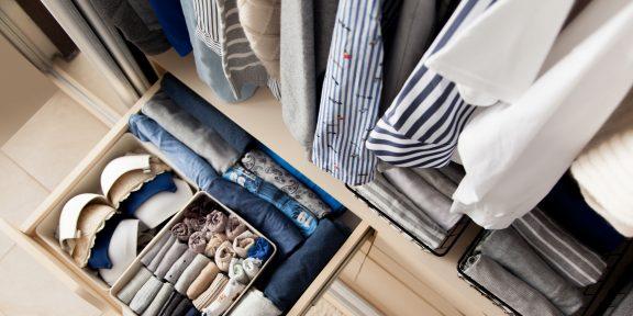 Полезный тред: как организовать хранение вещей в шкафу