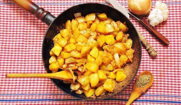 Жареная картошка по-мексикански