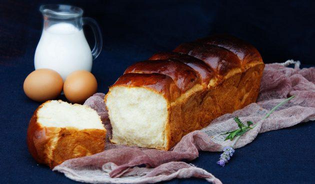 Японский хлеб хоккайдо