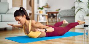 Тренировка дня: комплекс для сильной и здоровой спины