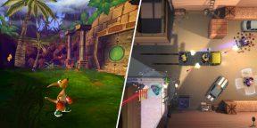 В Steam раздают классический платформер Kao the Kangaroo: Round 2 и шутер Geneshift
