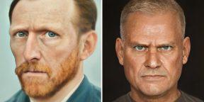 Качественные фото Ван Гога и Наполеона: нейросети восстановили внешний вид исторических личностей по их портретам