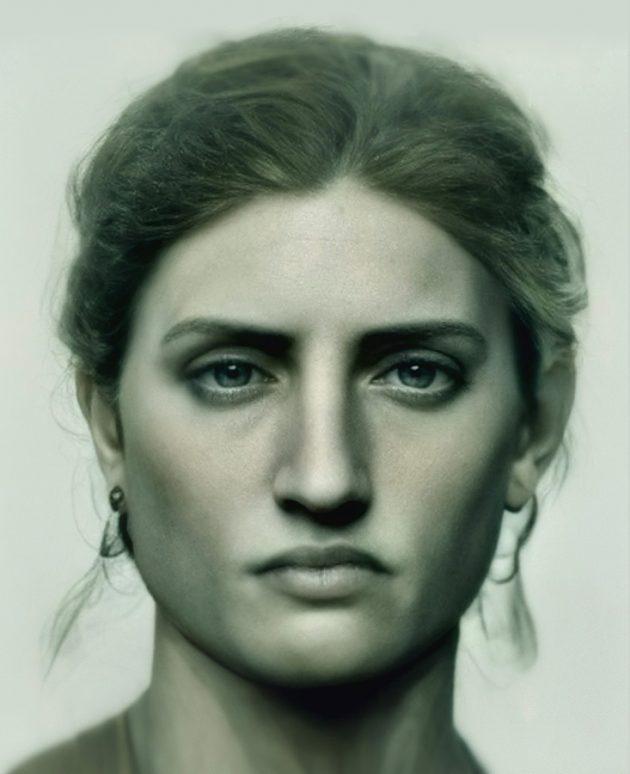 «Живое» лицо статуи Свободы