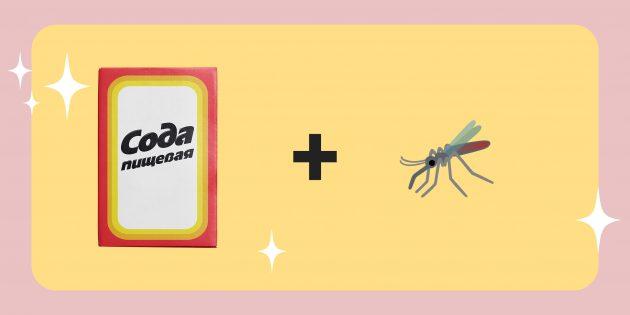 где пригодится пищевая сода: избавьтесь от зуда после комариных укусов