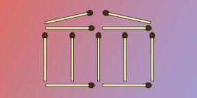 10 головоломок со спичками для тренировки сообразительности