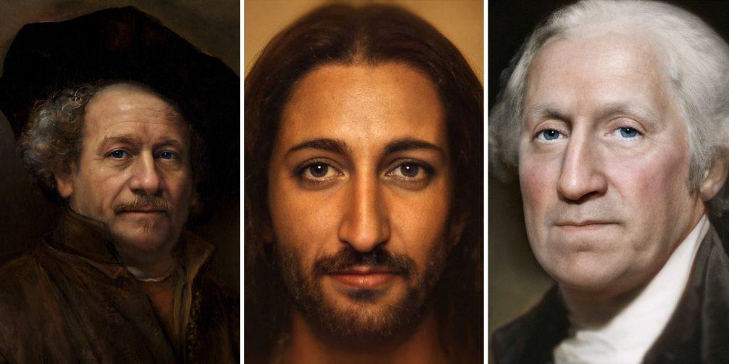 Рембрандт, Джордж Вашингтон и Ян ван Эйк: нейросеть показала реалистичные портреты известных личностей