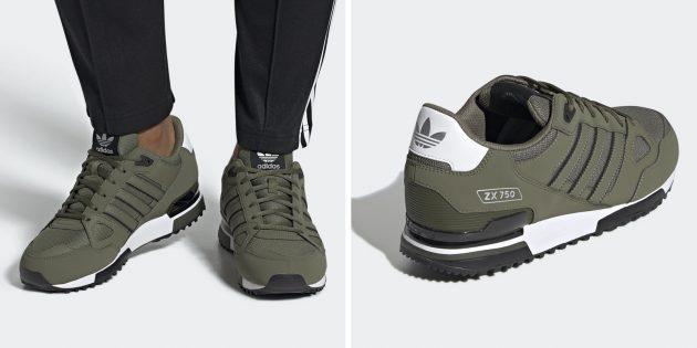 Одежда в спортивном стиле: кроссовки Adidas ZX 750
