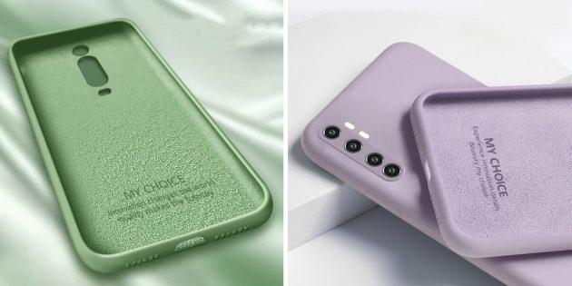 популярные товары: чехлы для смартфонов