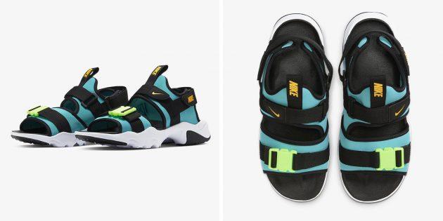 Одежда в спортивном стиле: сандалии Nike Canyon