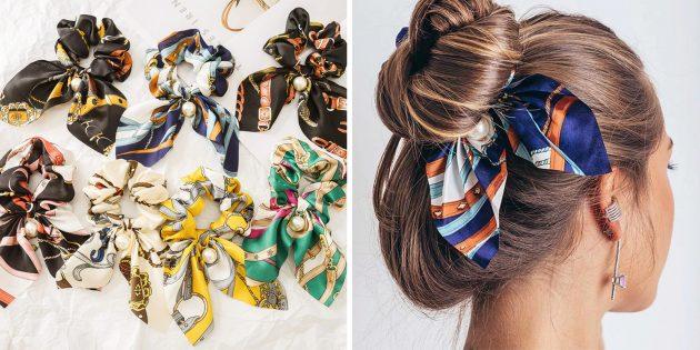 популярные товары: резинка для волос