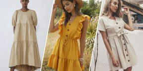 15 летних платьев с AliExpress и из других магазинов