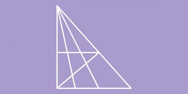Сколько треугольников на картинке