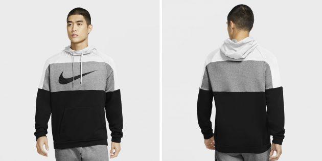 Одежда в спортивном стиле: худи Nike Dri-FIT