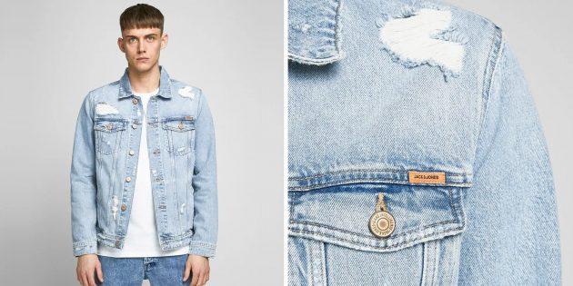 Джинсовая куртка Jack & Jones