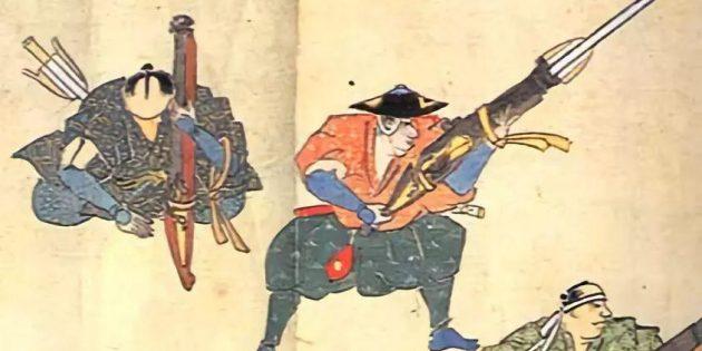Огнестрельное оружие для самурая неприемлемо