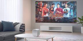 Надо брать: компактный проектор Xiaomi с Andoid TV и поддержкой 4K