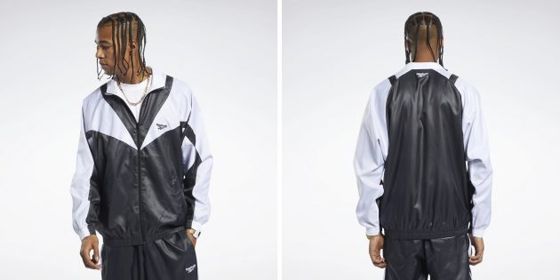 Одежда в спортивном стиле: куртка Reebok Classics Twin Vector