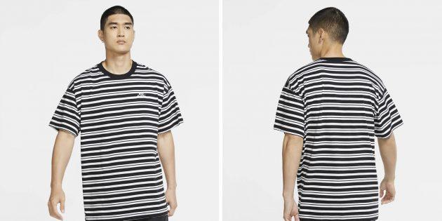 Одежда в спортивном стиле: футболка Nike SB