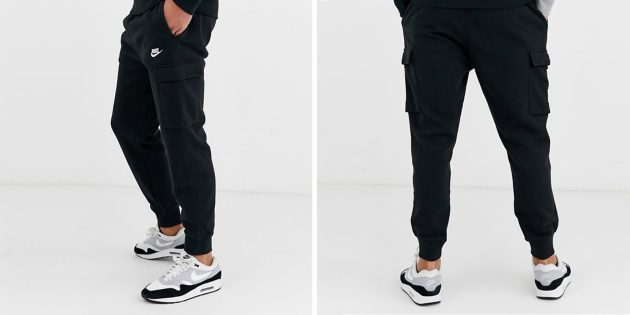 Одежда в спортивном стиле: джоггеры-карго Nike
