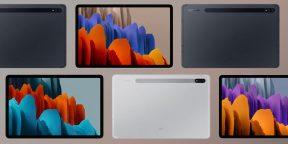 Конкуренты iPad Pro: в Сети появились изображения и характеристики Samsung Galaxy Tab S7 и Tab S7+