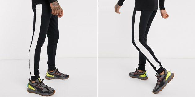 Одежда в спортивном стиле: джоггеры Asos Design