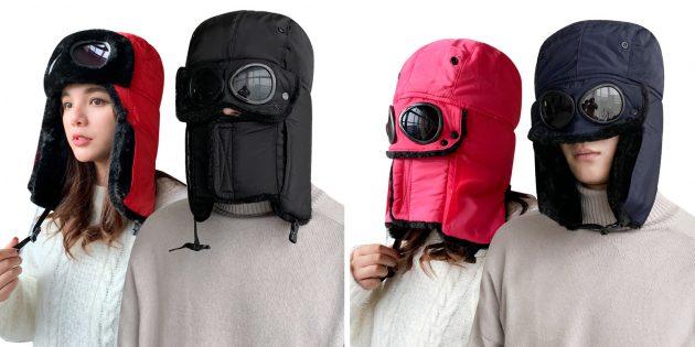 Странные вещи с AliExpress: шапка-ушанка с маской