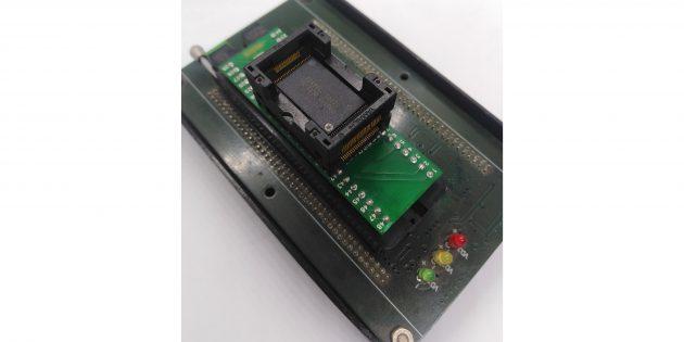 Как выполняется восстановление данных: ридер NAND-микросхем