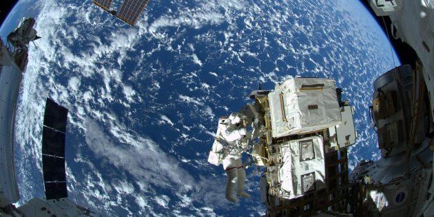 Ужасные вещи на МКС: в воздухе плавают частицы человеческой кожи